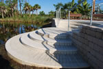 NBG Florida Garden - Solstice Landing by waters edge