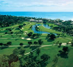 Naples Beach Hotel - Aerial of Golf Course