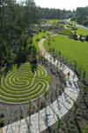 Mediterra - Parque Celestial - Aerial View - Arbor With Labyrinth